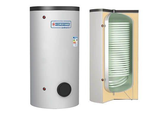 Soojuspumba boiler Cordivari Bolly XL 300