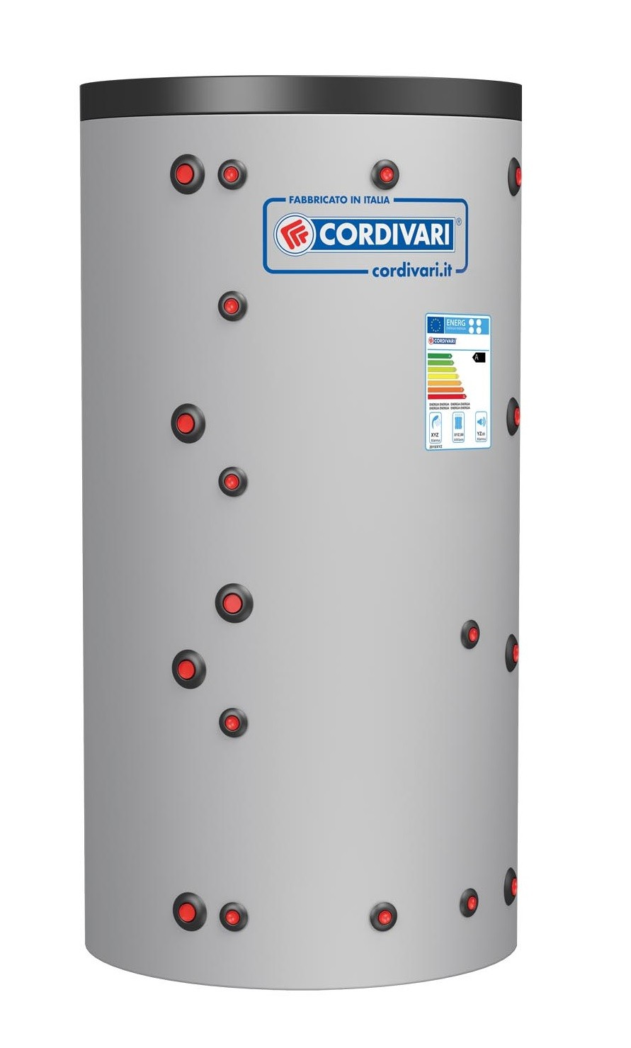 Isoleeritud akupaak soojusvahetiga Eco-Combi 1 (600L)