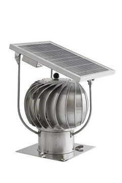 Isepöörlev tõmbeventilaator Turbowent Solar 150mm alusega  Darco