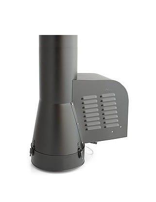 Korstna tõmbeventilaator GCK 200mm metallkorstnale (must)  Darco