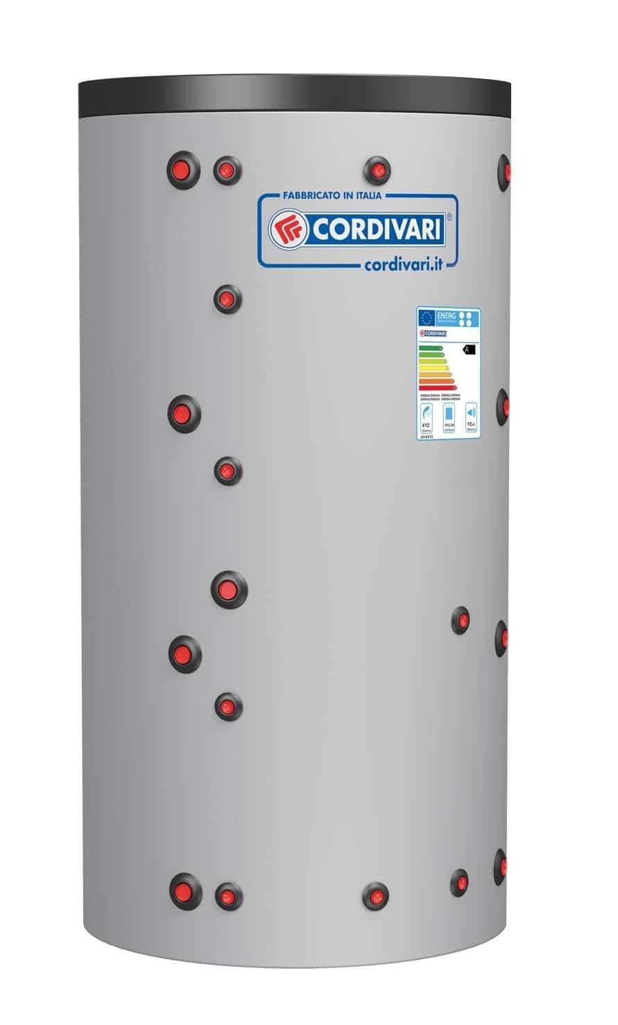 Isoleeritud akupaak soojusvahetiga Eco-Combi 1 WC (2000L)