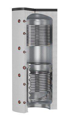Isoleeritud akupaak kahe soojusvahetiga Puffer 2 VC (750L) Cordivari