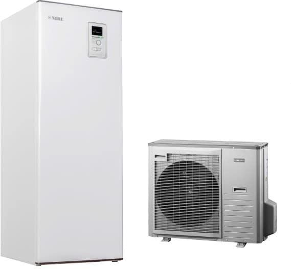 Õhk-vesi soojuspump Nibe Split 12kW (UUS)