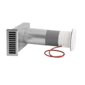 Elektrilise soojendusega värskeõhuklapp 80mm